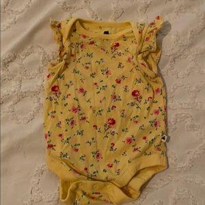 Girl Baby gap floral onsie